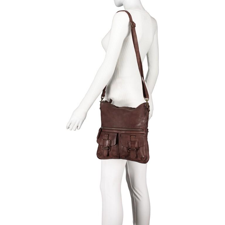 Umhängetasche Soft-Weaving Philipine B3.6304 Chocolate Brown, Farbe: braun, Marke: Harbour 2nd, EAN: 4046478028715, Bild 4 von 8