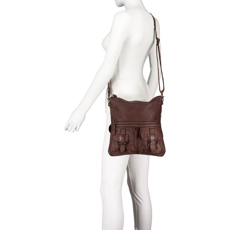 Umhängetasche Soft-Weaving Philipine B3.6304 Chocolate Brown, Farbe: braun, Marke: Harbour 2nd, EAN: 4046478028715, Bild 5 von 8