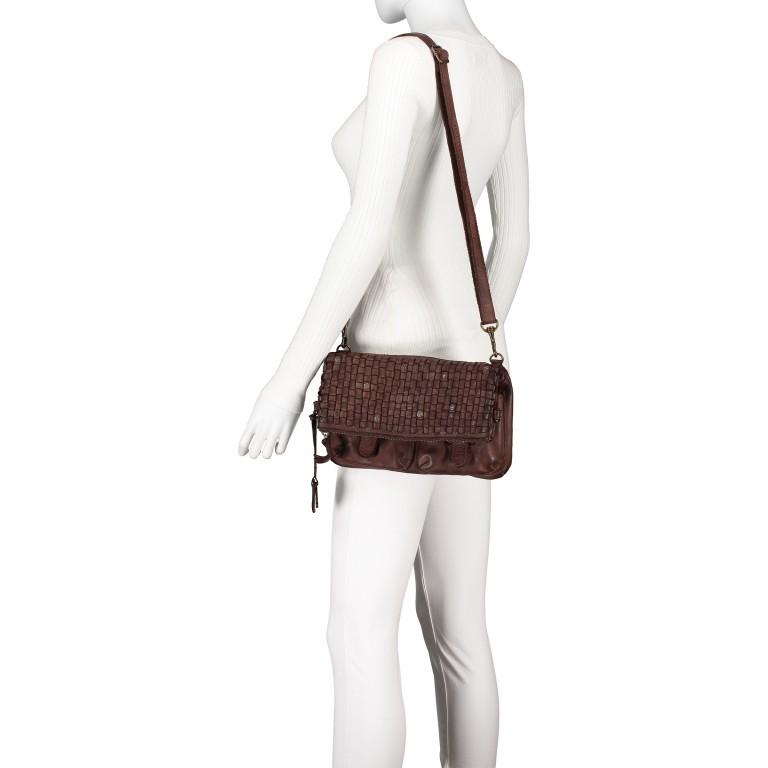 Umhängetasche Soft-Weaving Philipine B3.6304 Chocolate Brown, Farbe: braun, Marke: Harbour 2nd, EAN: 4046478028715, Bild 6 von 8