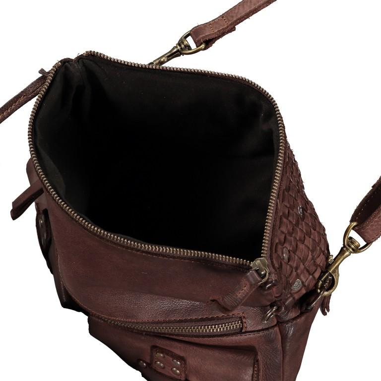 Umhängetasche Soft-Weaving Philipine B3.6304 Chocolate Brown, Farbe: braun, Marke: Harbour 2nd, EAN: 4046478028715, Bild 7 von 8