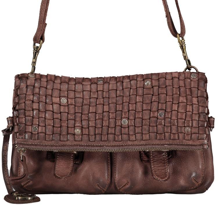 Umhängetasche Soft-Weaving Philipine B3.6304 Chocolate Brown, Farbe: braun, Marke: Harbour 2nd, EAN: 4046478028715, Bild 8 von 8