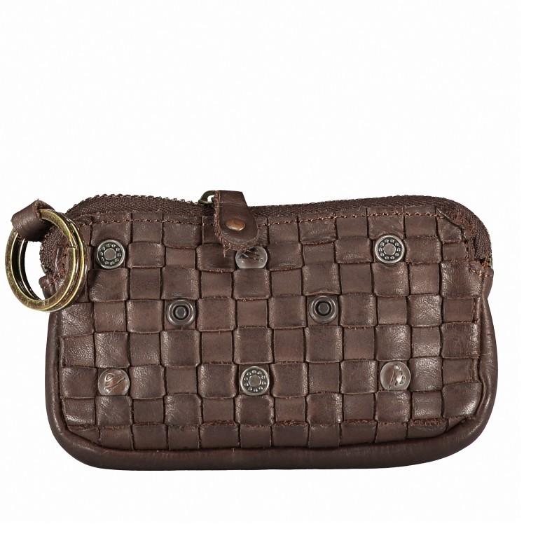 Schlüsseletui Soft-Weaving Lulu B3.0525 Chocolate Brown, Farbe: braun, Marke: Harbour 2nd, EAN: 4046478025172, Abmessungen in cm: 13.0x7.5x1.5, Bild 1 von 4