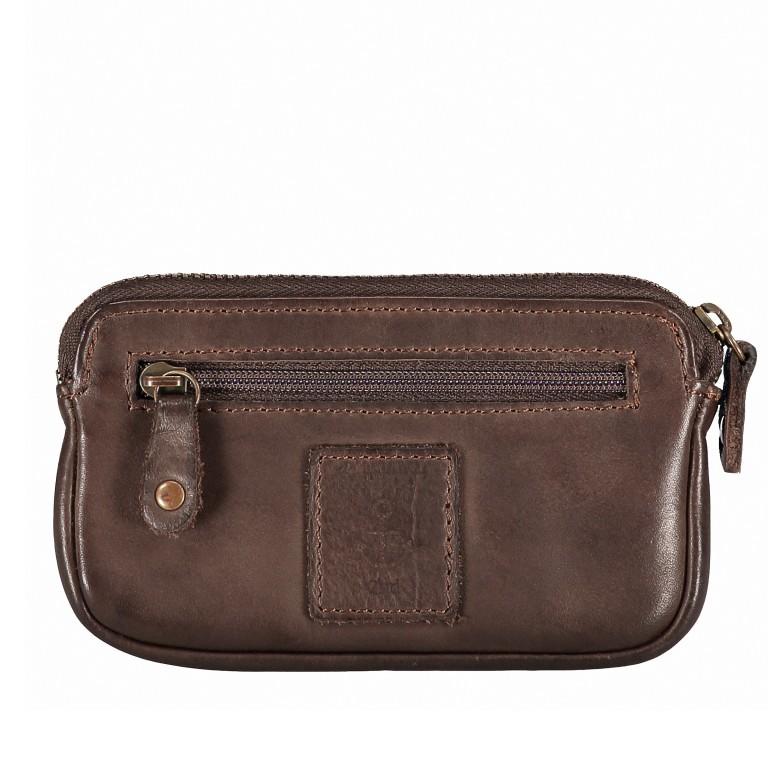 Schlüsseletui Soft-Weaving Lulu B3.0525 Chocolate Brown, Farbe: braun, Marke: Harbour 2nd, EAN: 4046478025172, Abmessungen in cm: 13.0x7.5x1.5, Bild 3 von 4
