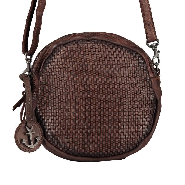 Umhängetasche Soft-Weaving Elisabeth B3.9794 Chocolate Brown, Farbe: braun, Marke: Harbour 2nd, EAN: 4046478047891, Bild 1 von 6