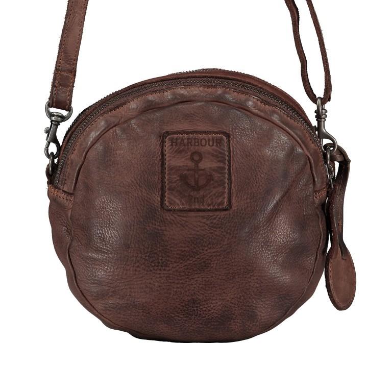 Umhängetasche Soft-Weaving Elisabeth B3.9794 Chocolate Brown, Farbe: braun, Marke: Harbour 2nd, EAN: 4046478047891, Bild 3 von 6