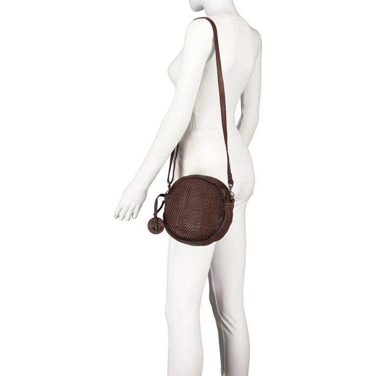 Umhängetasche Soft-Weaving Elisabeth B3.9794 Chocolate Brown, Farbe: braun, Marke: Harbour 2nd, EAN: 4046478047891, Bild 4 von 6