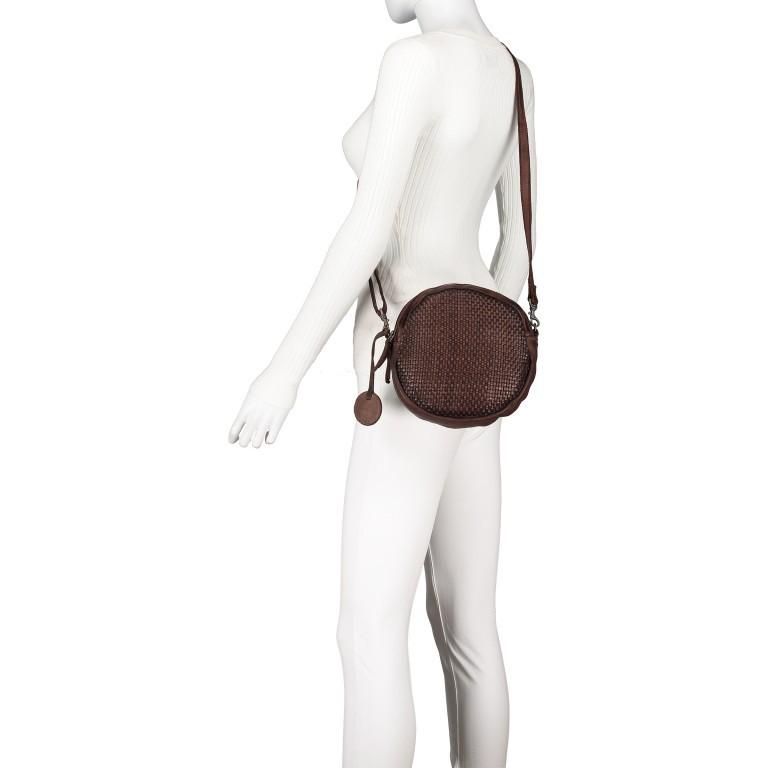 Umhängetasche Soft-Weaving Elisabeth B3.9794 Chocolate Brown, Farbe: braun, Marke: Harbour 2nd, EAN: 4046478047891, Bild 5 von 6