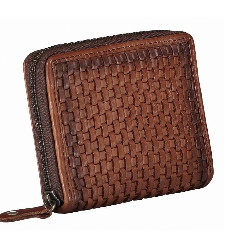 Geldbörse Soft-Weaving Cyd B3.2225 Charming Cognac, Farbe: cognac, Marke: Harbour 2nd, EAN: 4046478044814, Abmessungen in cm: 10.5x8.5x2.0, Bild 2 von 4