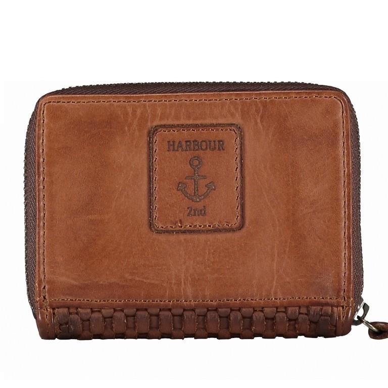 Geldbörse Soft-Weaving Cyd B3.2225 Charming Cognac, Farbe: cognac, Marke: Harbour 2nd, EAN: 4046478044814, Abmessungen in cm: 10.5x8.5x2.0, Bild 3 von 4