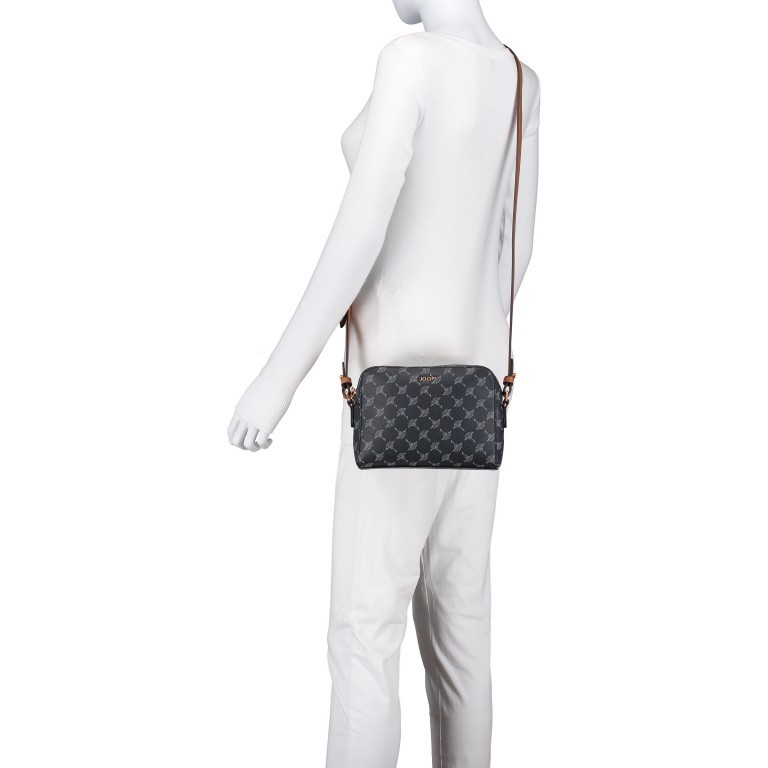 Umhängetasche Cortina Cloe SHZ Dark Grey, Farbe: anthrazit, Marke: Joop!, EAN: 4053533832668, Abmessungen in cm: 24.0x26.0x3.0, Bild 5 von 6