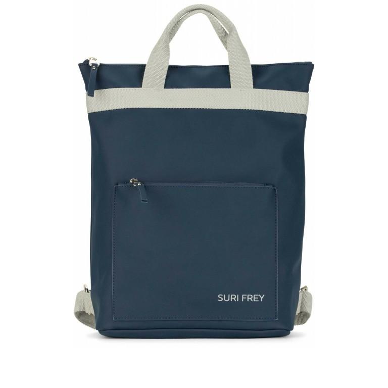 Rucksack Jessy 18003 Blue, Farbe: blau/petrol, Marke: Suri Frey, EAN: 4056185114557, Bild 1 von 8