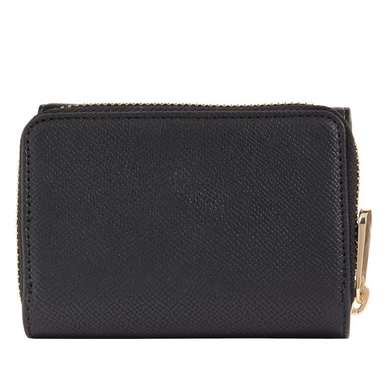 Geldbörse Honey Medium Wallet Black, Farbe: schwarz, Marke: Tommy Hilfiger, EAN: 8720113702722, Abmessungen in cm: 11.4x8.7x4.3, Bild 2 von 2