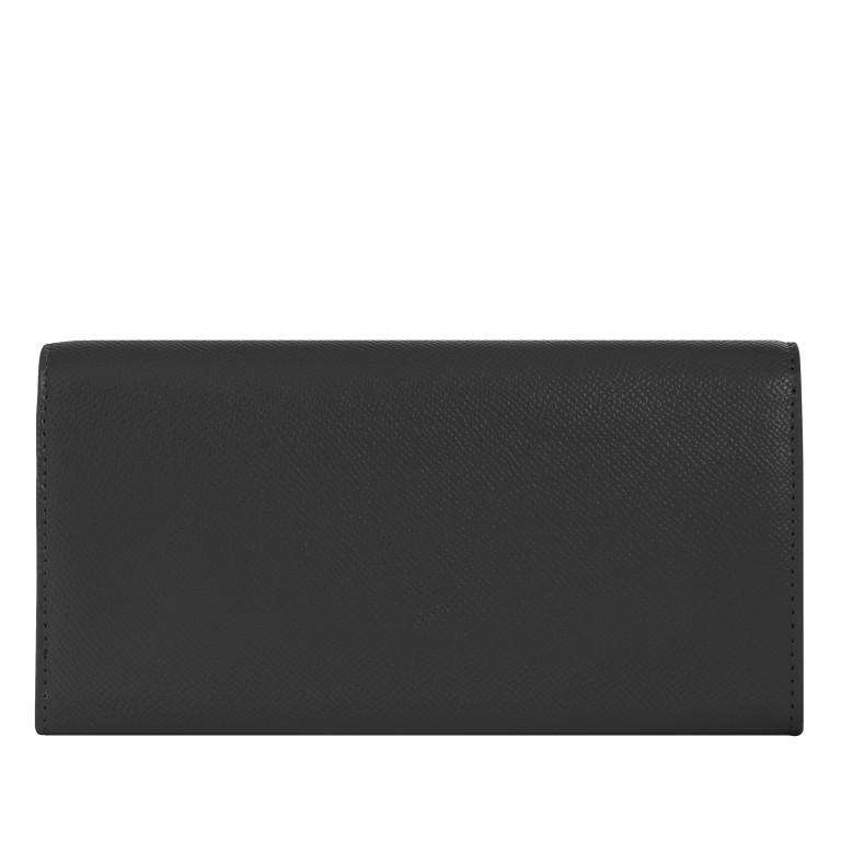 Geldbörse Honey Large Wallet with Flap Black, Farbe: schwarz, Marke: Tommy Hilfiger, EAN: 8720113703200, Abmessungen in cm: 19.0x10.0x3.5, Bild 2 von 2