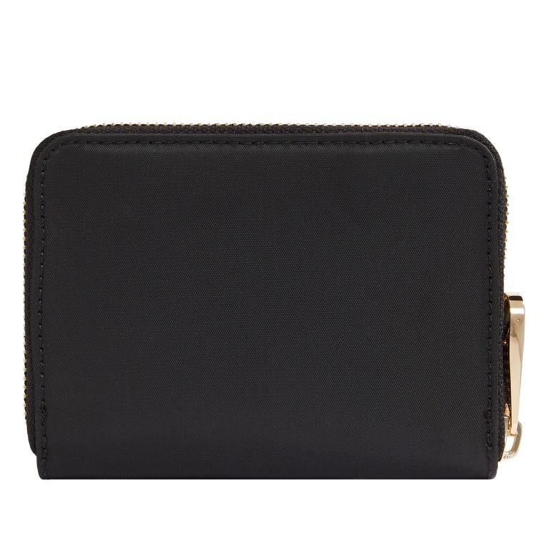 Geldbörse Poppy Medium Wallet Black, Farbe: schwarz, Marke: Tommy Hilfiger, EAN: 8720113701756, Abmessungen in cm: 12.5x10.0x2.5, Bild 2 von 3