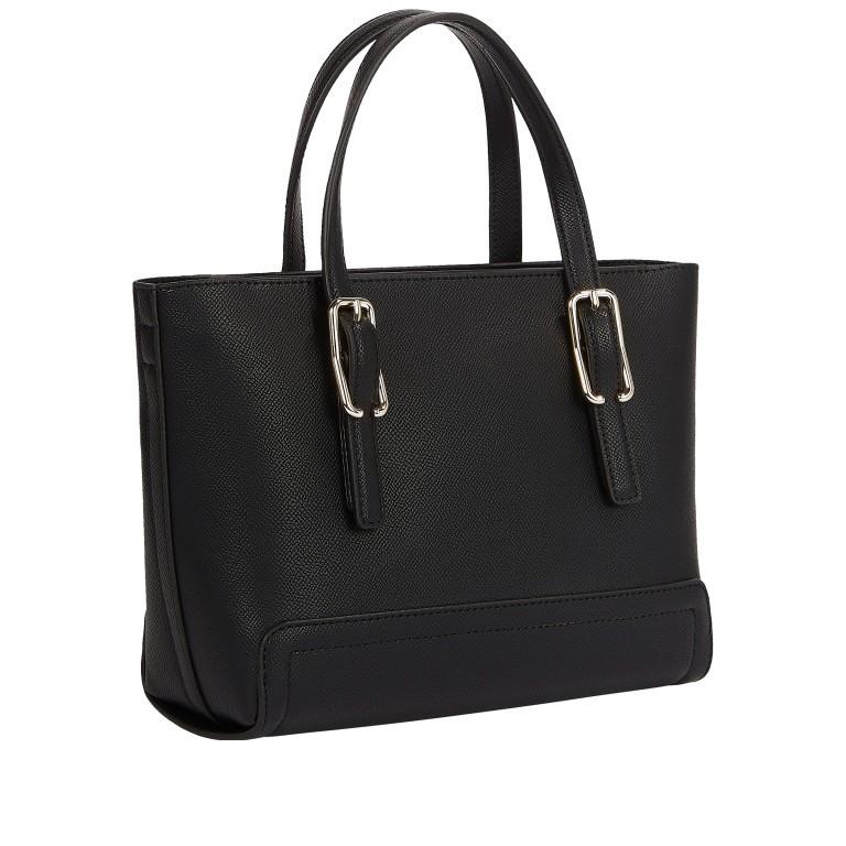Handtasche Honey Small Tote Black, Farbe: schwarz, Marke: Tommy Hilfiger, EAN: 8720113703705, Abmessungen in cm: 27.0x19.0x10.0, Bild 2 von 2