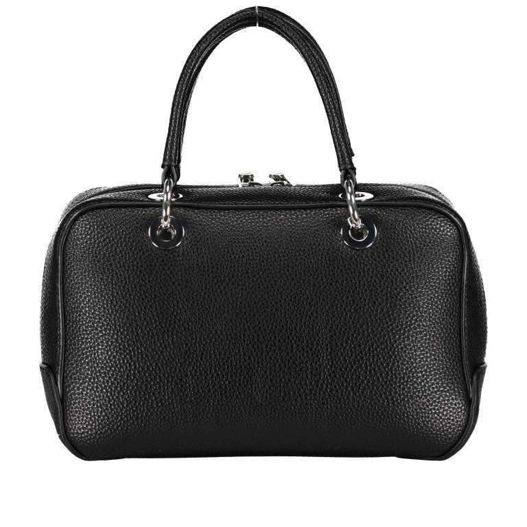 Handtasche Essence Medium Duffle Black, Farbe: schwarz, Marke: Tommy Hilfiger, EAN: 8720113701275, Abmessungen in cm: 26.0x16.0x10.0, Bild 2 von 3