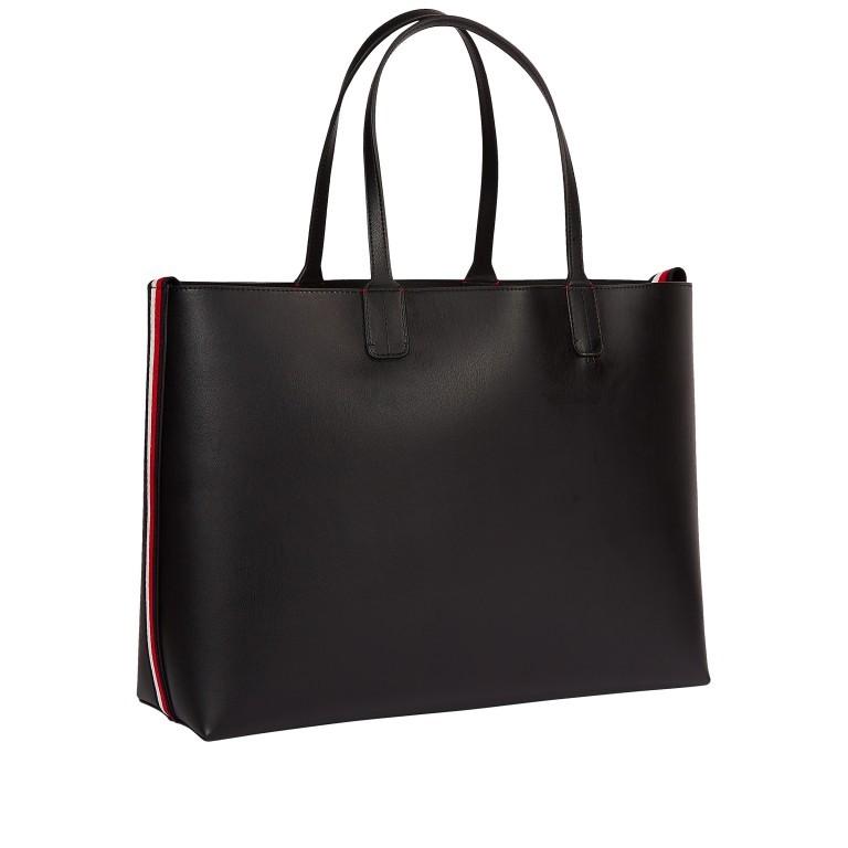 Shopper Iconic Signature Tote Black, Farbe: schwarz, Marke: Tommy Hilfiger, EAN: 8720113703767, Abmessungen in cm: 43.0x30.0x15.5  , Bild 2 von 2