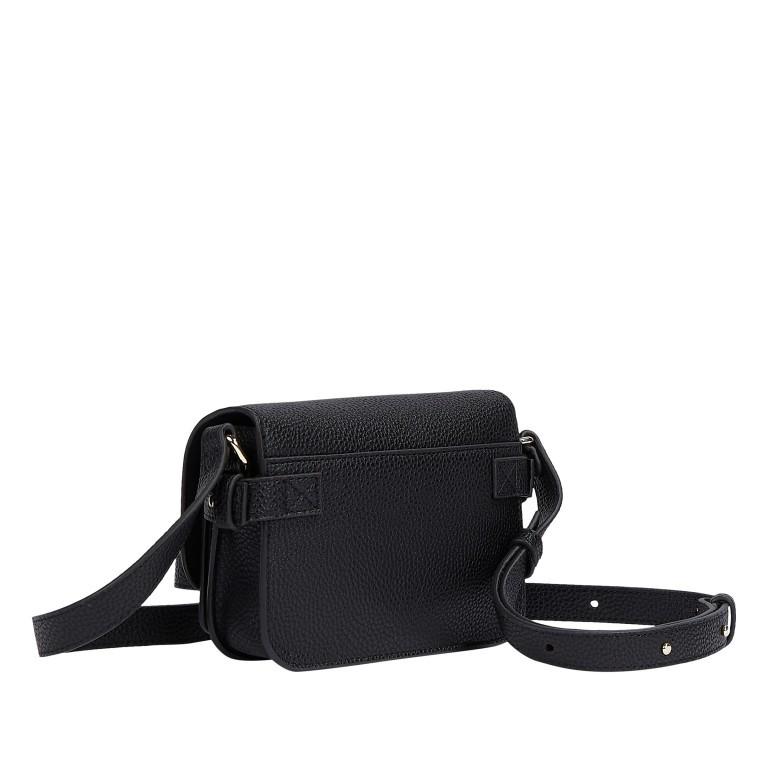 Umhängetasche Soft Mini Crossover Bag Black, Farbe: schwarz, Marke: Tommy Hilfiger, EAN: 8720113707529, Abmessungen in cm: 17.5x13.0x6.5, Bild 2 von 2
