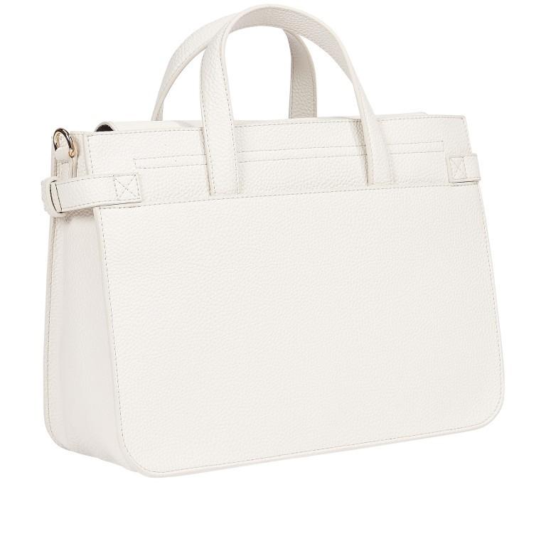 Handtasche Soft Satchel White Dove, Farbe: weiß, Marke: Tommy Hilfiger, EAN: 8720113707826, Abmessungen in cm: 32.0x23.0x13.0, Bild 2 von 2