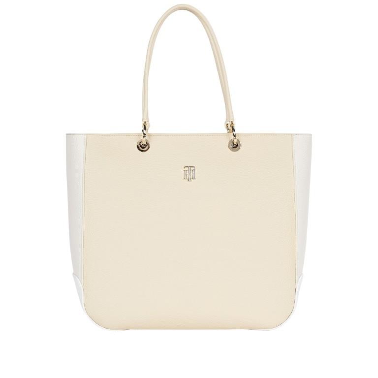 Shopper Essence Tote Color Block Caravan, Farbe: beige, Marke: Tommy Hilfiger, EAN: 8720113705266, Abmessungen in cm: 35.5x32.0x13.0, Bild 1 von 2