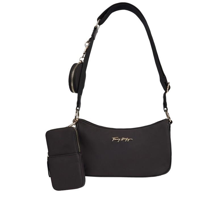 Umhängetasche Easy Crossover Bag Black, Farbe: schwarz, Marke: Tommy Hilfiger, EAN: 8720113709929, Abmessungen in cm: 26.0x13.0x8.0, Bild 1 von 2