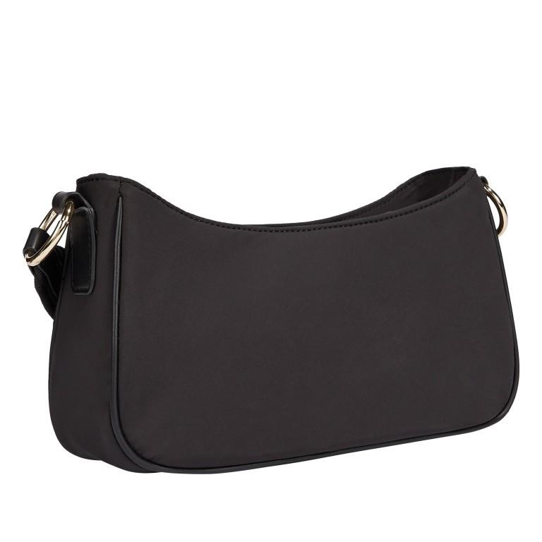 Umhängetasche Easy Crossover Bag Black, Farbe: schwarz, Marke: Tommy Hilfiger, EAN: 8720113709929, Abmessungen in cm: 26.0x13.0x8.0, Bild 2 von 2