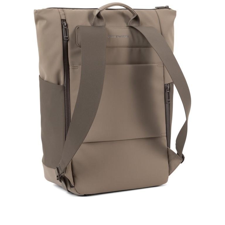 Rucksack Vertiplorer Hammada Brown, Farbe: taupe/khaki, Marke: Salzen, EAN: 4057081087723, Abmessungen in cm: 43.0x48.0x17.0, Bild 3 von 9