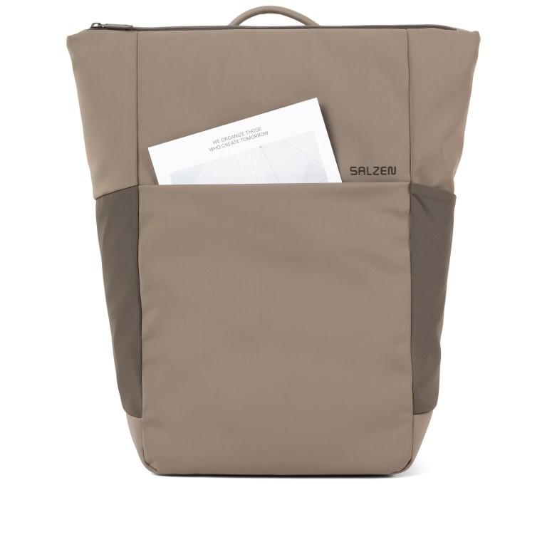 Rucksack Vertiplorer Hammada Brown, Farbe: taupe/khaki, Marke: Salzen, EAN: 4057081087723, Abmessungen in cm: 43.0x48.0x17.0, Bild 5 von 9