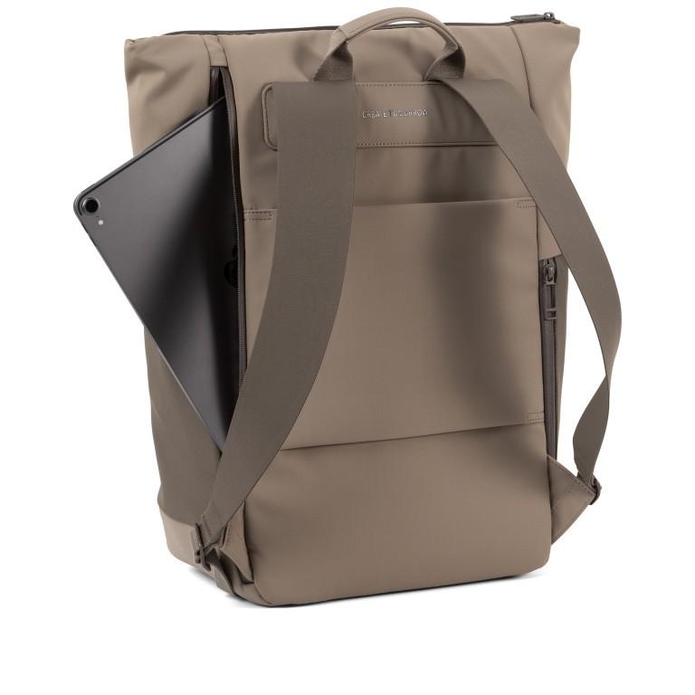 Rucksack Vertiplorer Hammada Brown, Farbe: taupe/khaki, Marke: Salzen, EAN: 4057081087723, Abmessungen in cm: 43.0x48.0x17.0, Bild 6 von 9