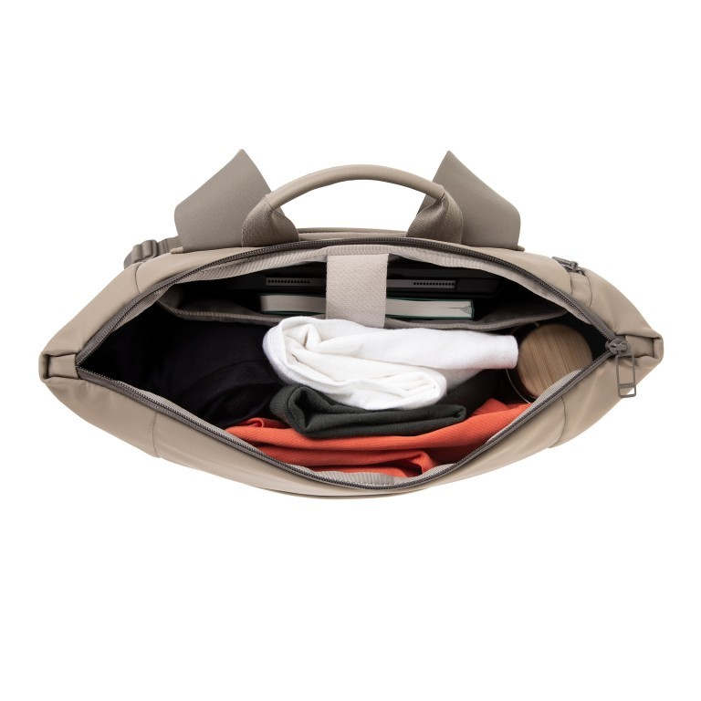 Rucksack Vertiplorer Hammada Brown, Farbe: taupe/khaki, Marke: Salzen, EAN: 4057081087723, Abmessungen in cm: 43.0x48.0x17.0, Bild 8 von 9