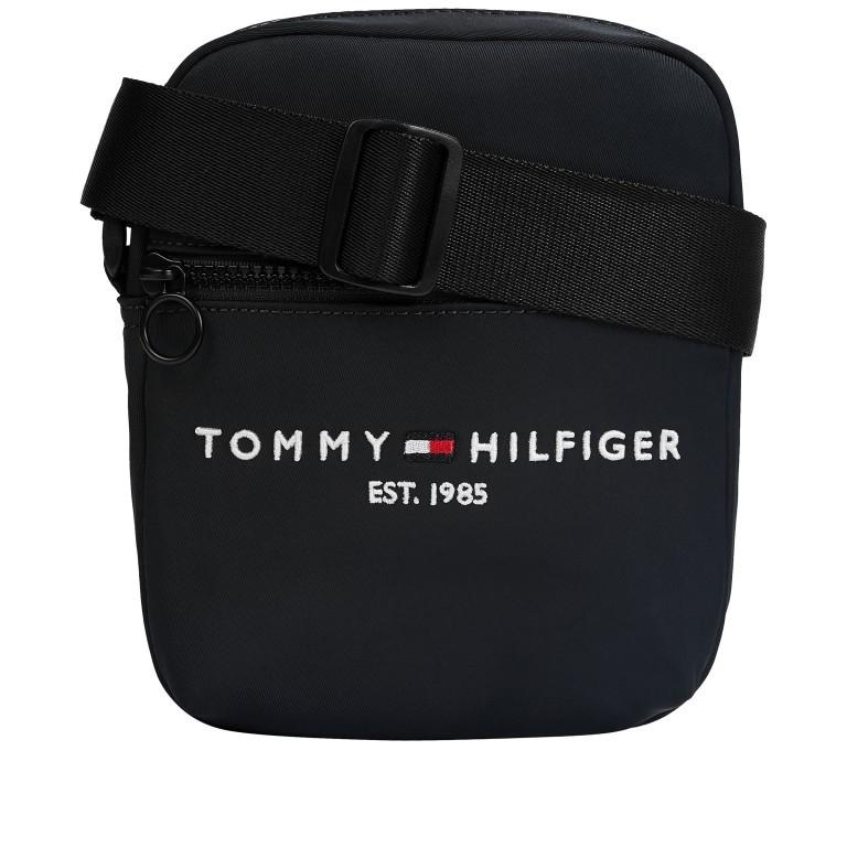 Umhängetasche Established Mini Reporter Black, Farbe: schwarz, Marke: Tommy Hilfiger, EAN: 8720113715289, Abmessungen in cm: 16.0x20.0x5.0, Bild 1 von 2