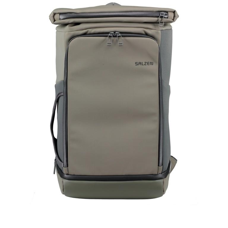 Salzen Triplete Tavelbag Backpack ZEN-SBM-001.70060 Olive Grey , Farbe: grün/oliv, Marke: Salzen, EAN: 4057081087693, Abmessungen in cm: 31.0x500x20.0, Bild 1 von 11