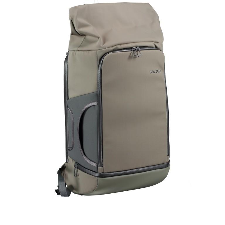 Salzen Triplete Tavelbag Backpack ZEN-SBM-001.70060 Olive Grey , Farbe: grün/oliv, Marke: Salzen, EAN: 4057081087693, Abmessungen in cm: 31.0x500x20.0, Bild 4 von 11