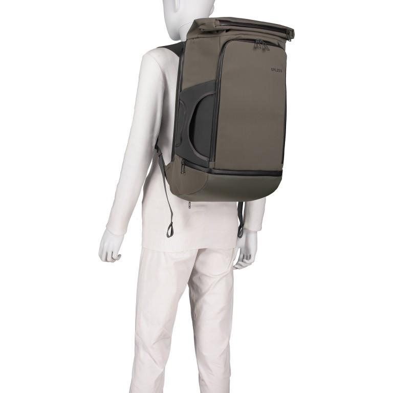 Salzen Triplete Tavelbag Backpack ZEN-SBM-001.70060 Olive Grey , Farbe: grün/oliv, Marke: Salzen, EAN: 4057081087693, Abmessungen in cm: 31.0x500x20.0, Bild 6 von 11