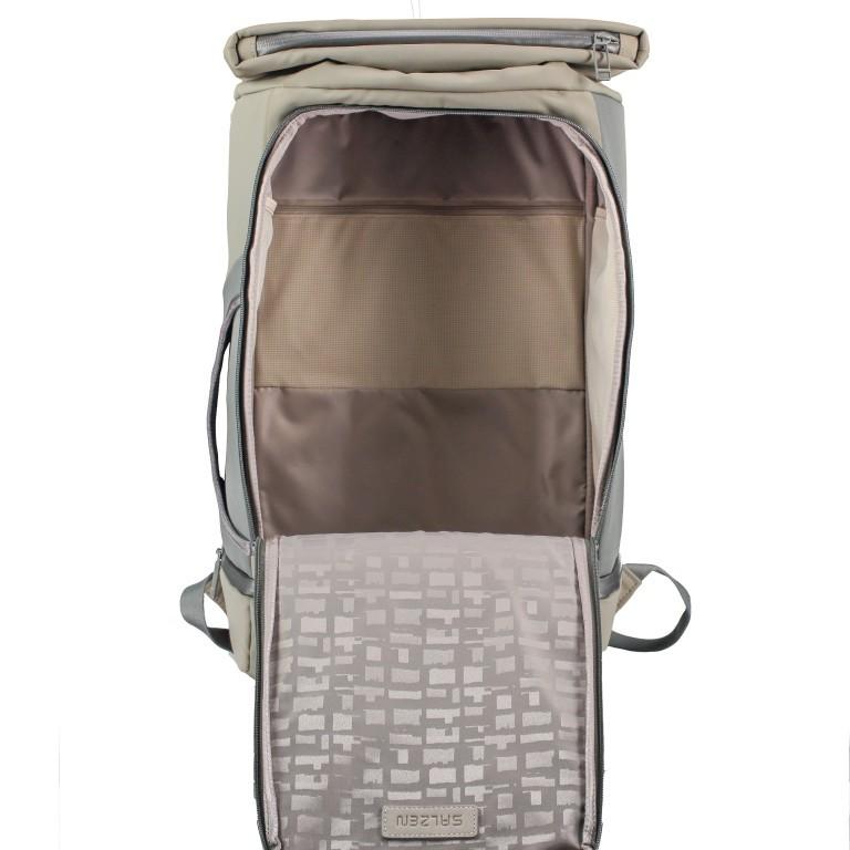 Salzen Triplete Tavelbag Backpack ZEN-SBM-001.70060 Olive Grey , Farbe: grün/oliv, Marke: Salzen, EAN: 4057081087693, Abmessungen in cm: 31.0x500x20.0, Bild 10 von 11