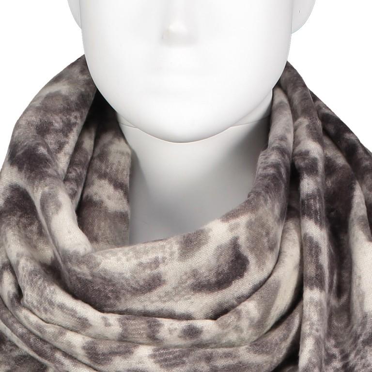 Schal Snake Grau, Farbe: grau, Marke: Hausfelder, EAN: 4065646004207, Bild 2 von 2