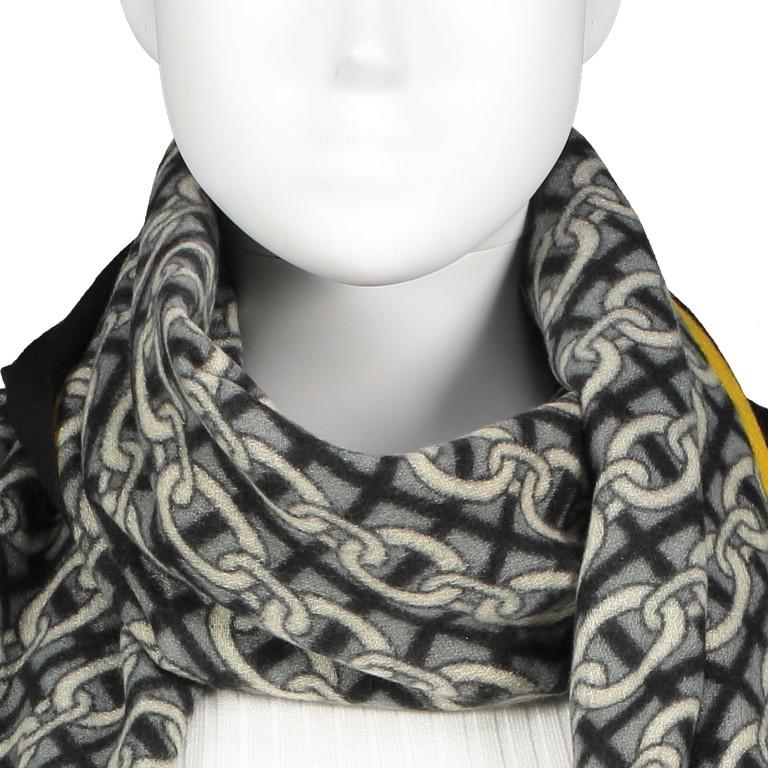 Schal Schwarz, Farbe: schwarz, Marke: Hausfelder, EAN: 4065646004214, Bild 2 von 2
