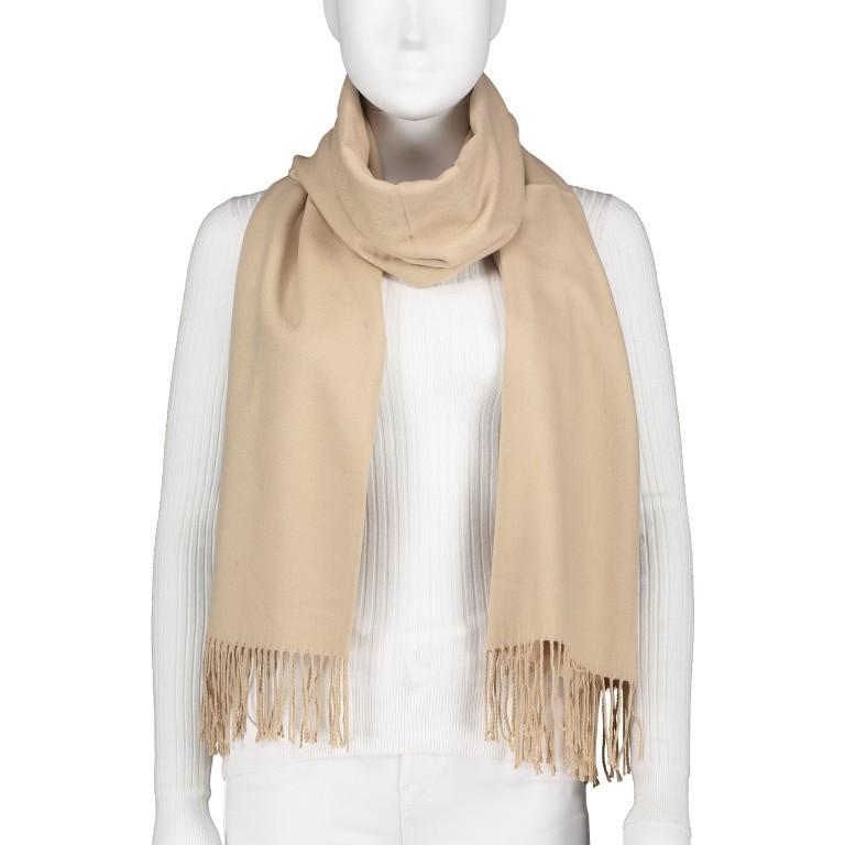 Schal mit Kaschmir Beige, Farbe: beige, Marke: Hausfelder, Bild 1 von 2