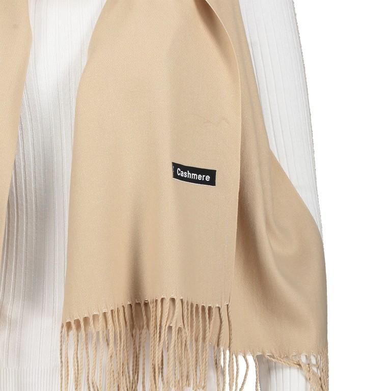 Schal mit Kaschmir Beige, Farbe: beige, Marke: Hausfelder, Bild 2 von 2