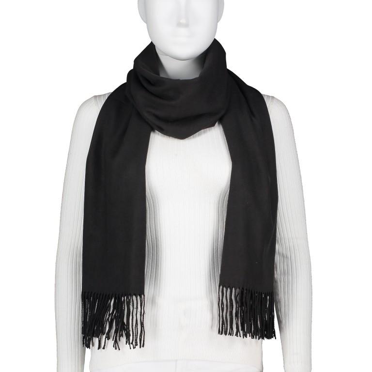 Schal mit Kaschmir Schwarz, Farbe: schwarz, Marke: Hausfelder, EAN: 4065646005266, Bild 1 von 2