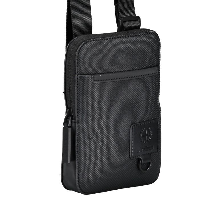 Umhängetasche Blackhorse Shoulderbag XSVZ Black, Farbe: schwarz, Marke: Strellson, EAN: 4053533851478, Abmessungen in cm: 13.0x18.0x1.5, Bild 2 von 8