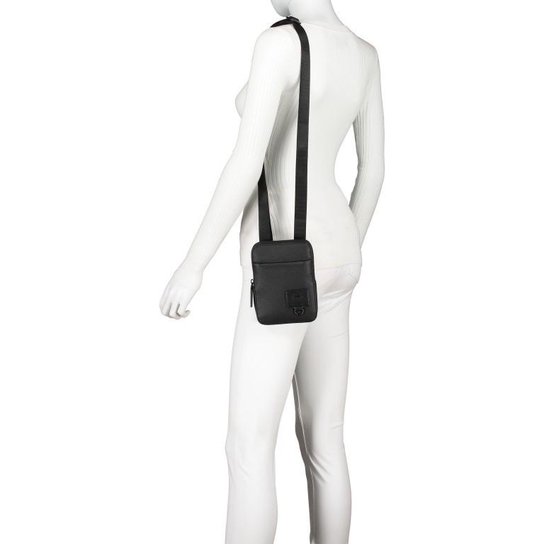 Umhängetasche Blackhorse Shoulderbag XSVZ Black, Farbe: schwarz, Marke: Strellson, EAN: 4053533851478, Abmessungen in cm: 13.0x18.0x1.5, Bild 5 von 8