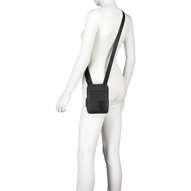 Umhängetasche Blackhorse Shoulderbag XSVZ Black, Farbe: schwarz, Marke: Strellson, EAN: 4053533851478, Abmessungen in cm: 13.0x18.0x1.5, Bild 6 von 8