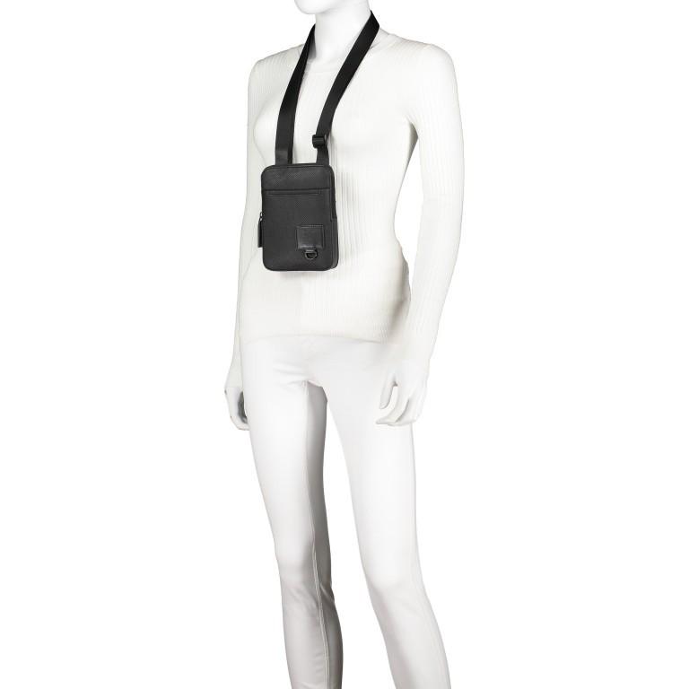 Umhängetasche Blackhorse Shoulderbag XSVZ Black, Farbe: schwarz, Marke: Strellson, EAN: 4053533851478, Abmessungen in cm: 13.0x18.0x1.5, Bild 7 von 8