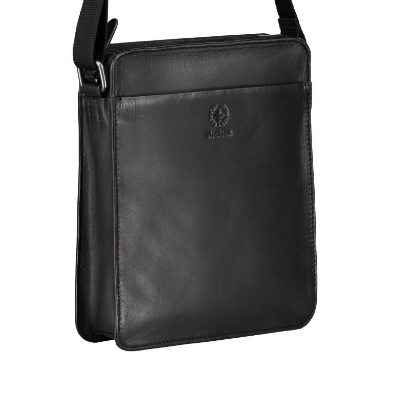 Umhängetasche Bakerloo Shoulderbag XSVZ Black, Farbe: schwarz, Marke: Strellson, EAN: 4053533851553, Abmessungen in cm: 22.0x25.0x4.5, Bild 2 von 8