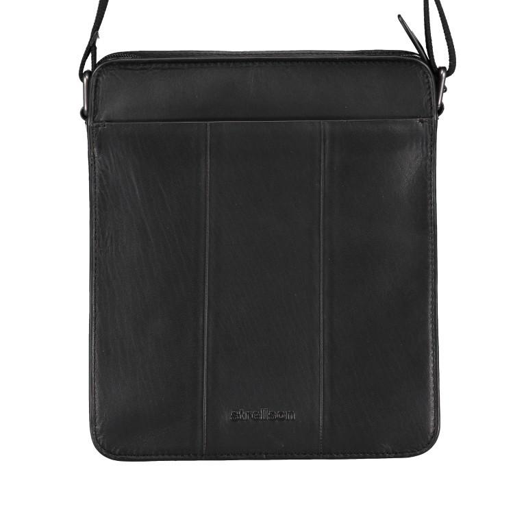 Umhängetasche Bakerloo Shoulderbag XSVZ Black, Farbe: schwarz, Marke: Strellson, EAN: 4053533851553, Abmessungen in cm: 22.0x25.0x4.5, Bild 3 von 8