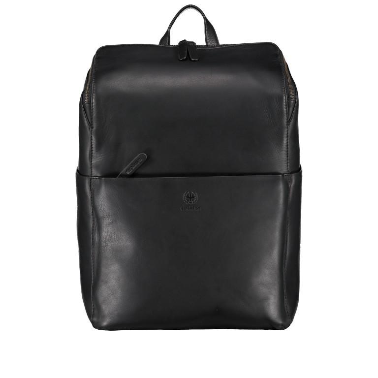 Rucksack Bakerloo Backpack MVZ Black, Farbe: schwarz, Marke: Strellson, EAN: 4053533851508, Abmessungen in cm: 29.0x40.0x15.0, Bild 1 von 7