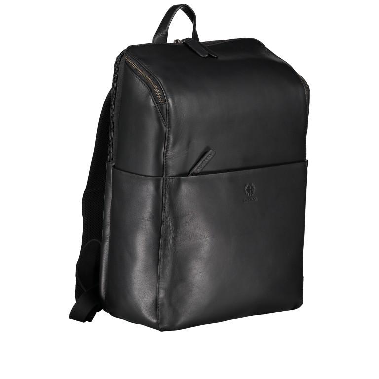 Rucksack Bakerloo Backpack MVZ Black, Farbe: schwarz, Marke: Strellson, EAN: 4053533851508, Abmessungen in cm: 29.0x40.0x15.0, Bild 2 von 7