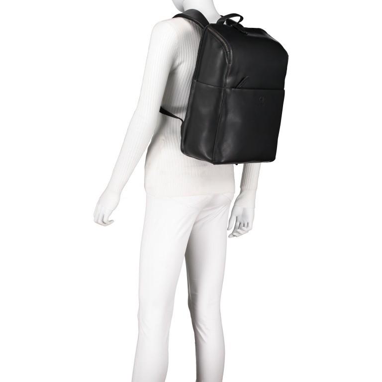 Rucksack Bakerloo Backpack MVZ Black, Farbe: schwarz, Marke: Strellson, EAN: 4053533851508, Abmessungen in cm: 29.0x40.0x15.0, Bild 4 von 7