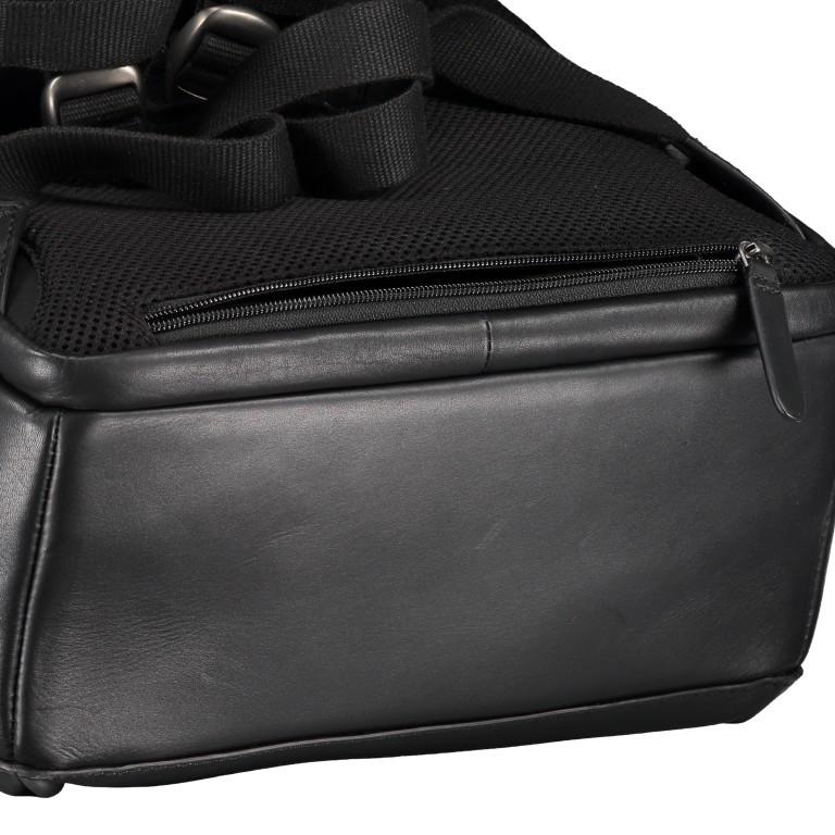 Rucksack Bakerloo Backpack MVZ Black, Farbe: schwarz, Marke: Strellson, EAN: 4053533851508, Abmessungen in cm: 29.0x40.0x15.0, Bild 7 von 7